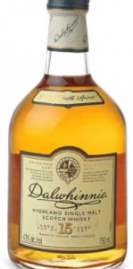 Dalwhinnie 15yo bottle