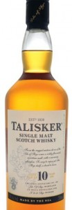 Talisker 10yo bottle