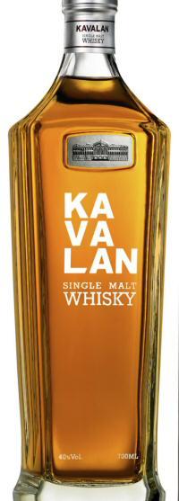 Kavalan Single Malt bottle