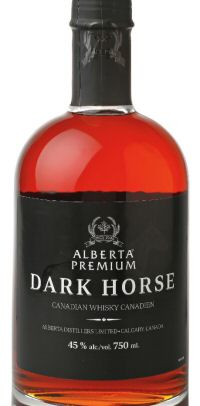 Albera Premium Dark Horse bottle