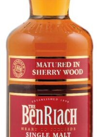 BenRiach 12yo Sherry Wood bottle