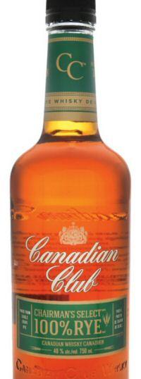 Canadan Club Chairman's Select 100% Rye bottle