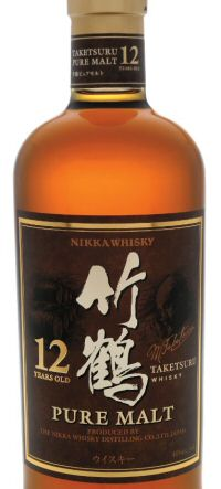 Nikka Taketsuru pure malt 12yo bottle
